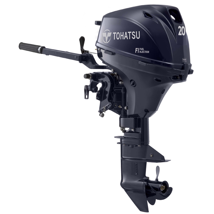 Tohatsu 20hp outboard engine