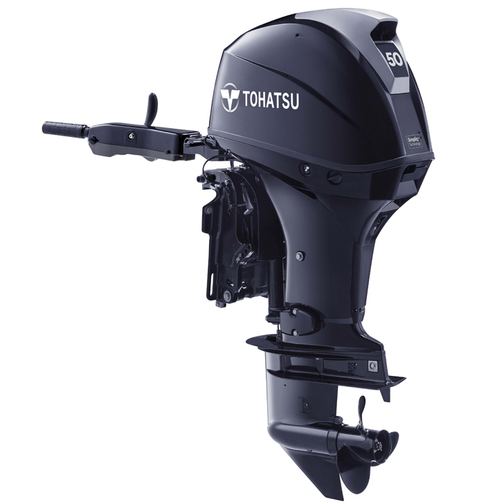 Tohatsu 50hp outboard engine